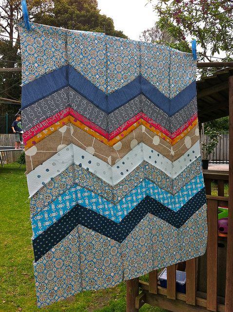 chevron quilt