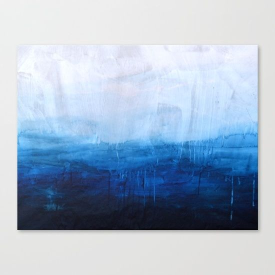 Ombre, ocean, water, painting, abstract, poster, sea.