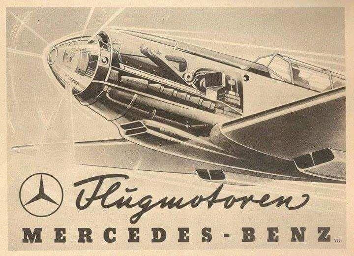 Flugmotoren Mercedes-Benz – Ingo Bathke