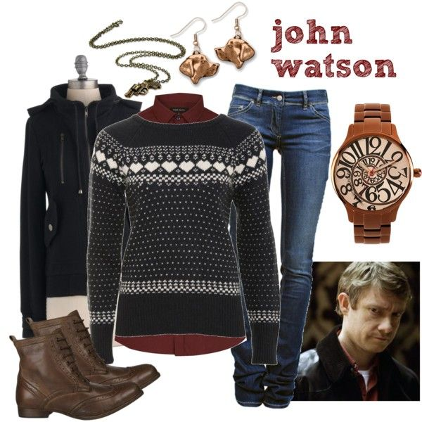 """John Watson: Hounds of Baskerville"" by atkinson-adams on Polyvore"