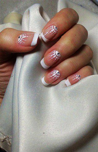 17 Best images about Wedding nails on Pinterest