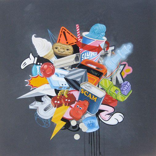Michael Steele artist painter painting australia