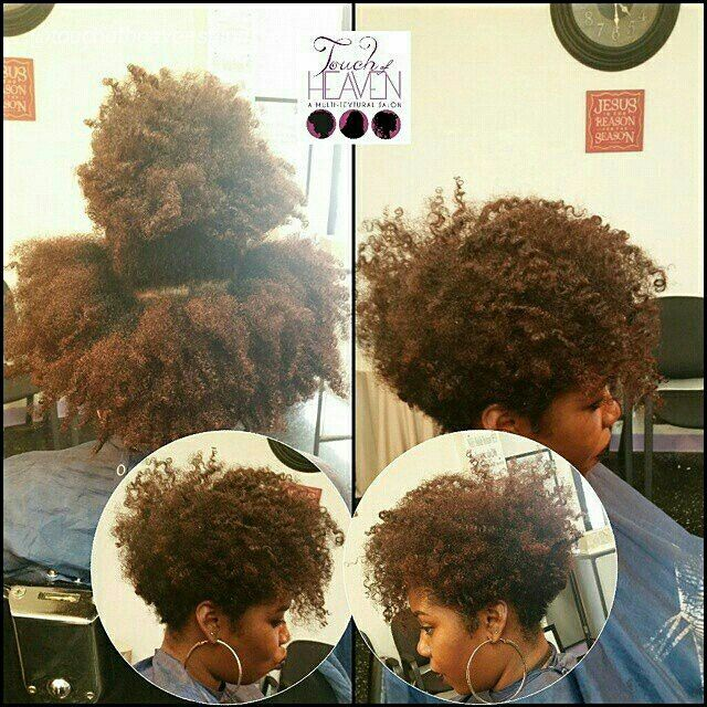 One of my hottest taper cuts to date! Love it! Natural Hair www.touchofheavensalon.com