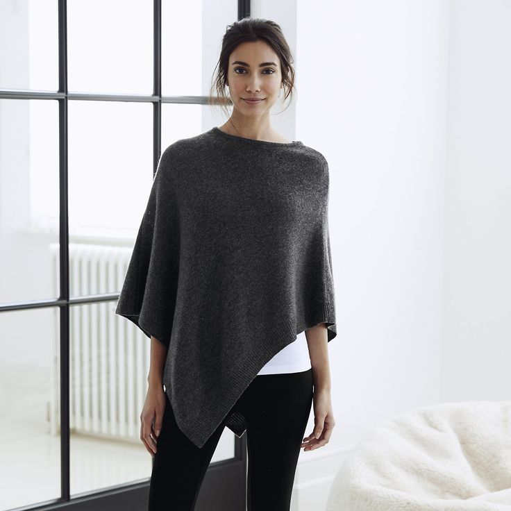 Triangle Poncho | The White Company US