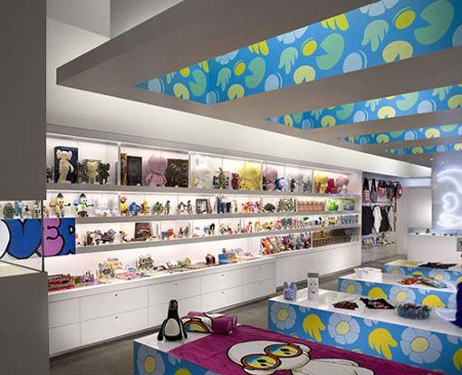 Kid Robot Interior Retail Design 03