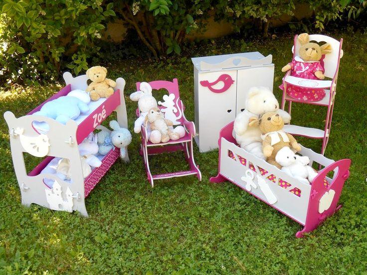 Tutoriel Meubles pour poupées/doudous : chaise haute () - Femme2decoTV