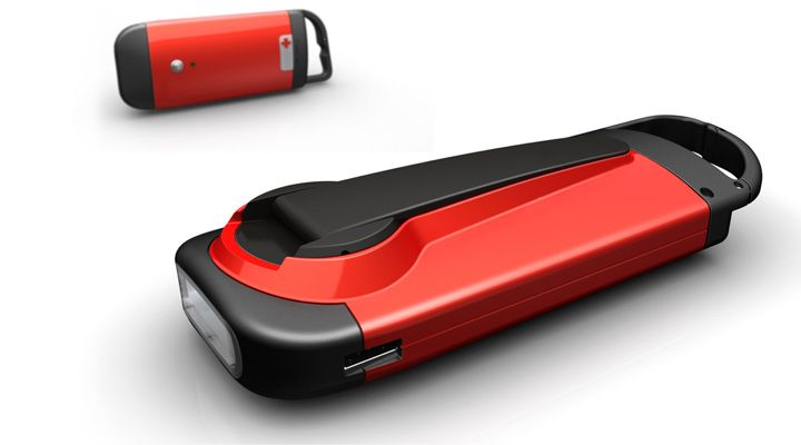 Lighting  up lives when all else fails :   Emergency Flashlight Product Design by Lumium