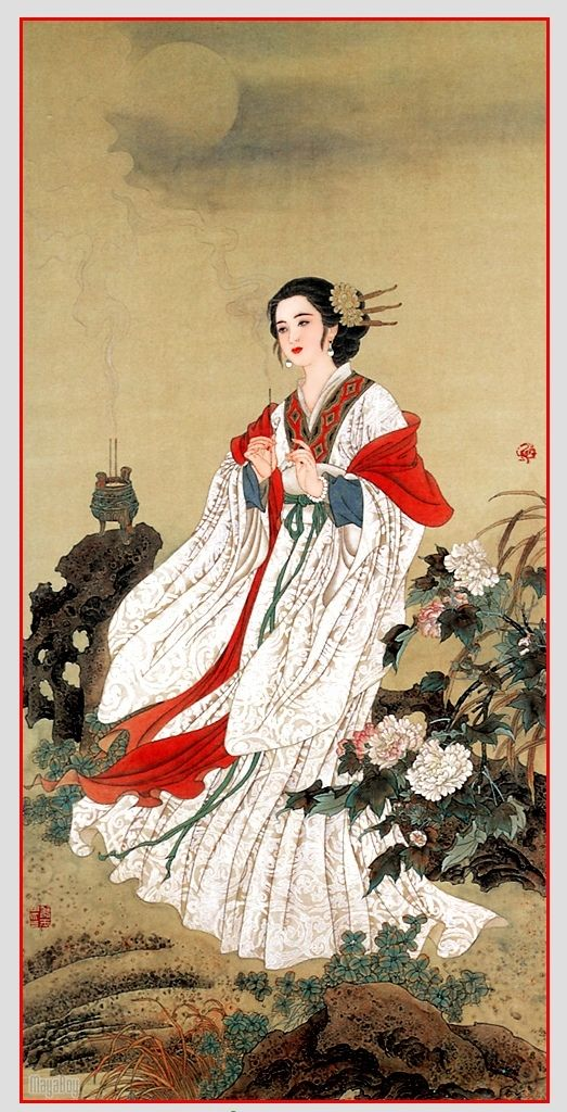 Traditional Beauty, Chinese elegance