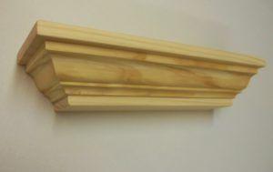 Crown Molding Wall Ledge Shelf