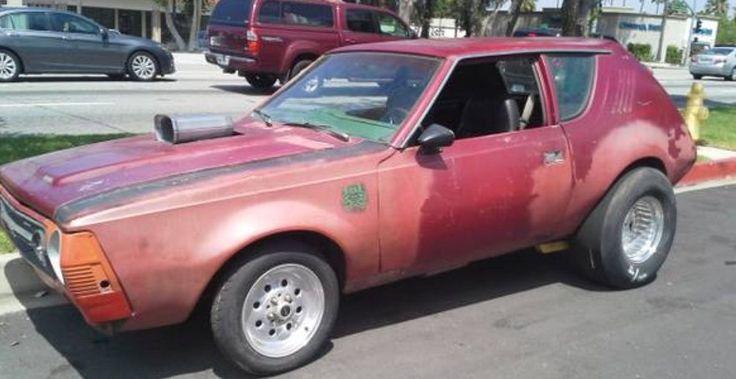 Notorious Gasser: 1976 AMC Gremlin - http://barnfinds.com/notorious-gasser-1976-amc-gremlin/