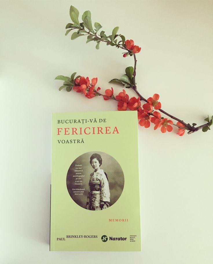 """Probabil cea mai romantică poveste autobiografică pe care o veți citi vreodată: """"Bucurați-vă de fericirea voastră"""" semnată de jurnalistul câștigător al premiului Pulitzer, Paul Brinkley-Rogers."""
