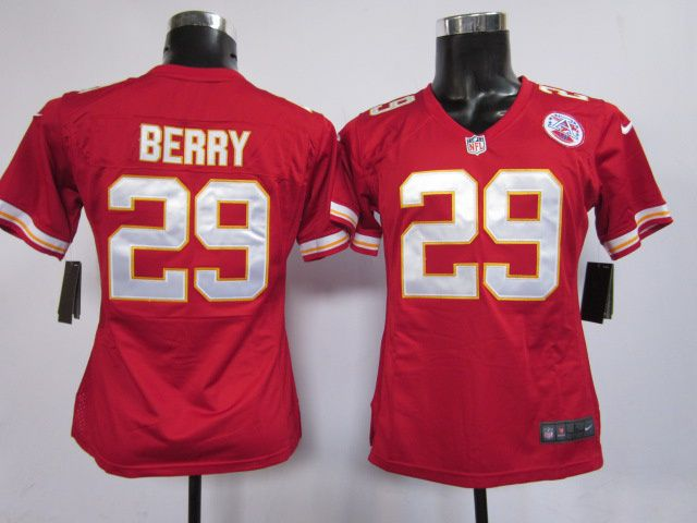 brand new 191a5 d8f52 reebok kansas city chiefs eric berry 29 red replica jersey sale