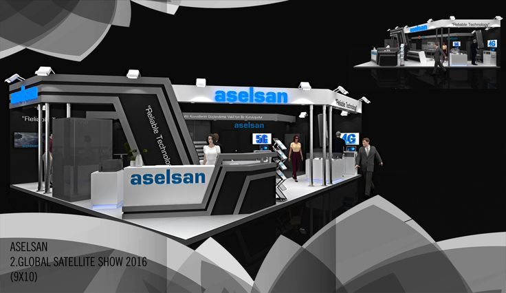 ASELSAN 2.GLOBAL SATELLITE SHOW 2016 (9X10)