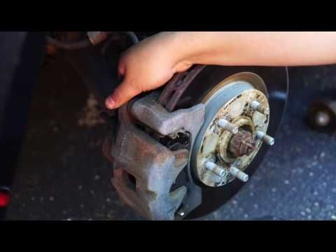 how to:2011 Jeep Patriot Breaks front and back EZ - YouTube