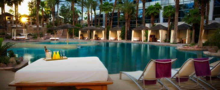 Get insider information on pricing for VIP entry, daybeds and cabanas at the Rehab Las Vegas pool party. Never overspend on a Las Vegas pool party again!