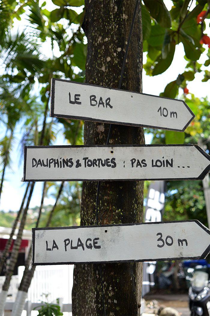 Petite revue de deux endroits où manger les pieds dans l'eau en Martinique !
