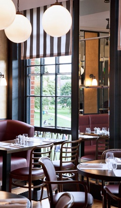 Cote Restaurant - A new chain restaurant for Exeter. A great place for breakfast or a brasserie style lunch. Try and sit upstairs with a fantastic view of the Cathedral Green.