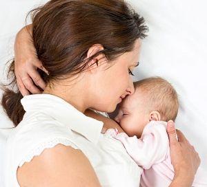 Baby Nach Stillen Unruhig