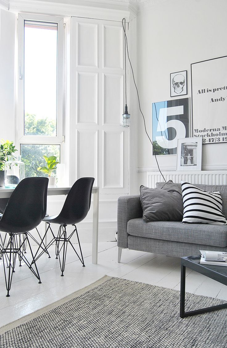 Via Ollie and Sebs Haus | Black and White | Moderna Museet Poster | Eames Dsr