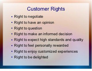 Customer service training general