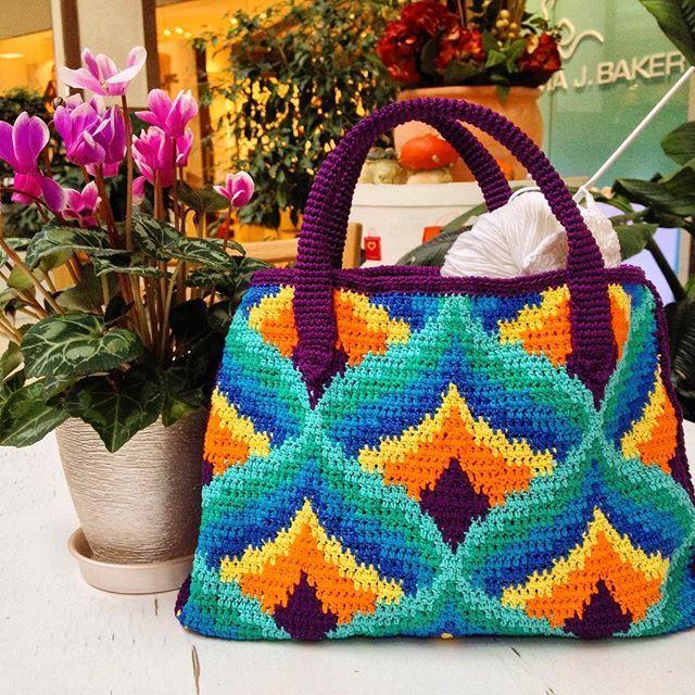 Crochet bag,