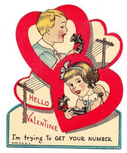 160 best images about Vintage Valentines – Talking Valentine Cards