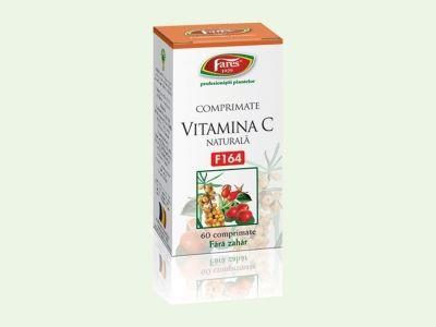 Vitamina C Naturala Fares  http://herbashop.ro/vitamina-c-naturala-fares-60cpr