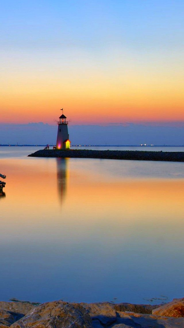 Lake Hefner #lighthouse… Where my son proposed to his girlfriend