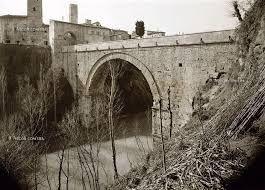 Ascoli, ponte romano di Porta Solestà. Fu costruito in travertino sotto Augusto, l'autore è ignoto. Nel 1938 per meglio conservarlo, è stata inserita all'interno del ponte una struttura di cemento. Oggi collega il centro della città con il quartiere di Porta Cappuccina.