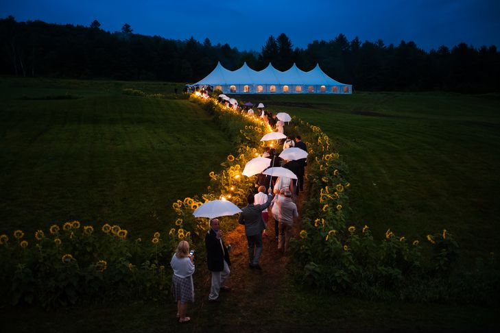 Upper valley wedding