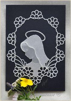 Parchment craft - Madonna www.pergaminart.pl