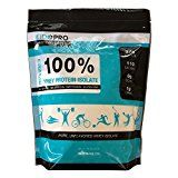 EidoPro Protein Powder 100% Pure Whey ISOLATE Unsweetened 1 lb bag 27g Protein Per Serving (Unflavored Whey Isolate 1 pound)