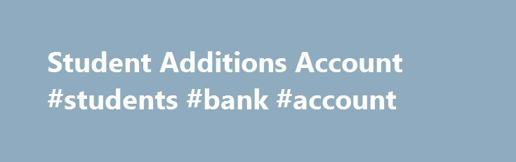 Student Additions Account #students #bank #account http://oregon.remmont.com/student-additions-account-students-bank-account/  # Updated cookies policy – you'll see this message only once. Barclays uses cookies on this website. They help us to know a little bit about you and how you use our website, which improves the browsing experience and marketing – both for you and for others. They are stored locally on your computer or mobile device. To accept cookies continue browsing as normal. Or go…