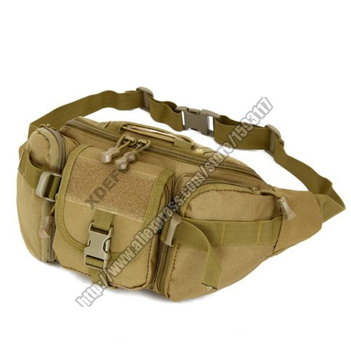 Nylon tactical army Fanny Hip Pack waist bag Shoulder security travel outdoor waist bag for fishing multi-function cintura bag