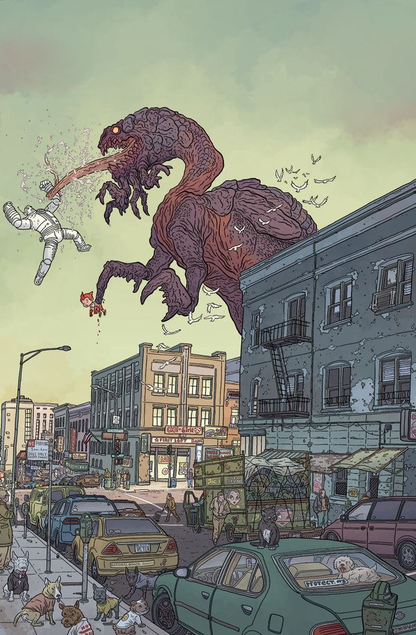 wellnotwisely:  bourbonthret:  New Big Guy cover!  Big Guy and Rusty the Robot cover by Geof Darrow for the new mini-series serialising in Dark Horse Presents in August.