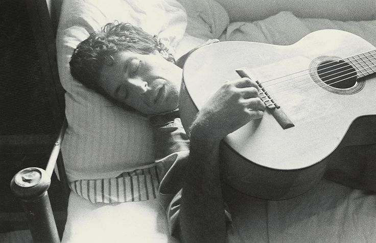 Ralph Gibson - Leonard Cohen, Montreal, 1973