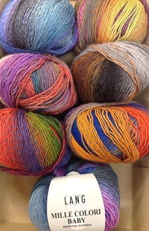 Mille Colori baby de Lang Yarns. I just bought 3 of these shades. Fabulous.