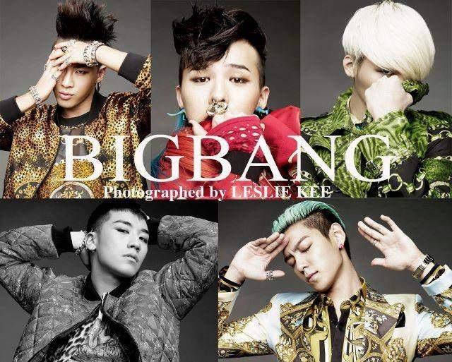 """BIGBANG """"Monster"""" Image teaser."""