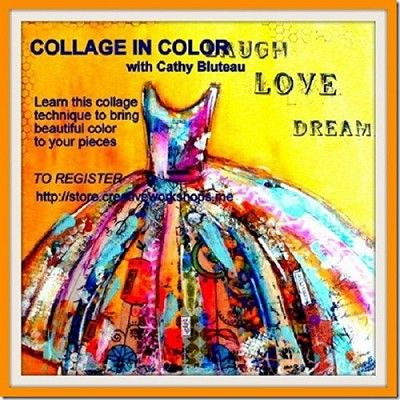 Collage in Color - Cathy Bluteau Online video class