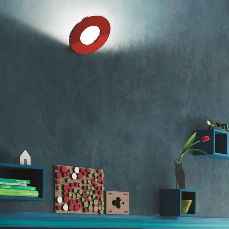 Un'altra ambientazione di Passepartout, la lampada a led minimale ed essenziale firmata Cini&Nils