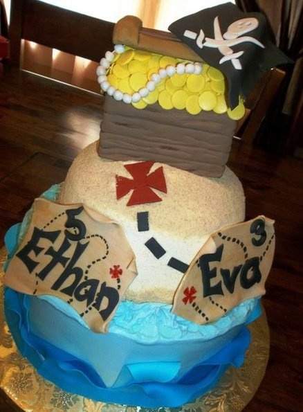 Pirate Cake  Cake by WinchesterDeb