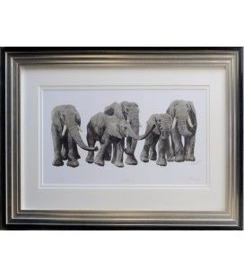 Moving On - Limited Edition Print by Mary Ann Rogers Number 45 of 500