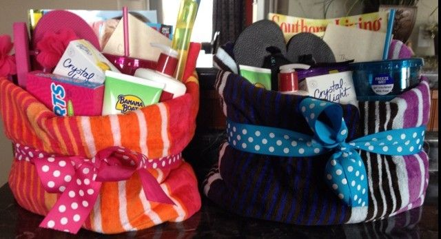 7 more summer gift basket ideas