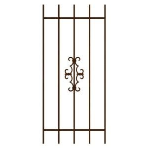 Unique Home Designs Watchman Trio 24 in. x 54 in. Copper 5-Bar Window Guard-DISCONTINUED SWG0240COP2454 at The Home Depot - Mobile