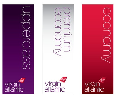 Virgin Atlantic's new identity and livery