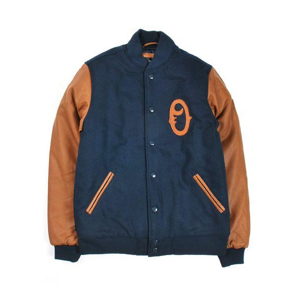 Obey - The O Varsity Jacket, Navy
