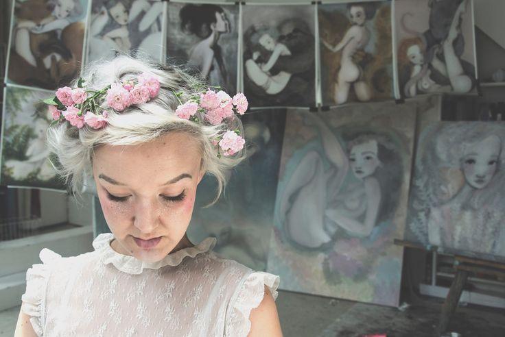 Výstava Léna Brauner–Za zrcadlem