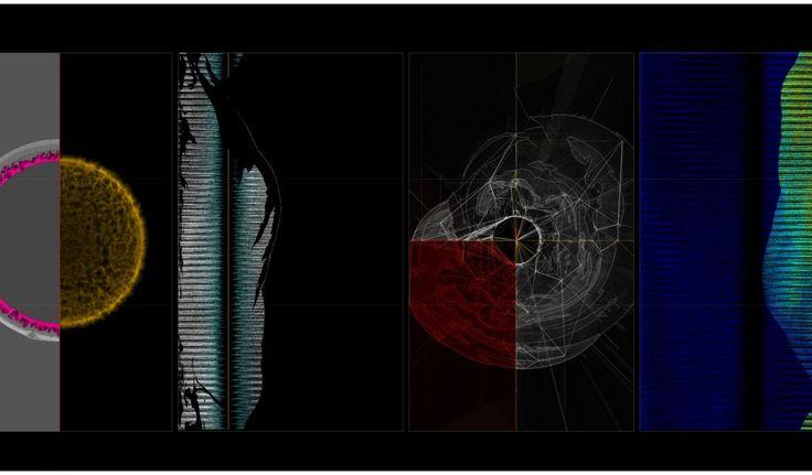 イギリスにて、黒川良一によるアートと天体物理学の融合