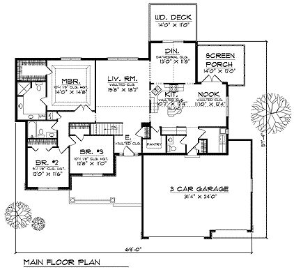 231 best floor plans images on pinterest master suite for Fha house plans