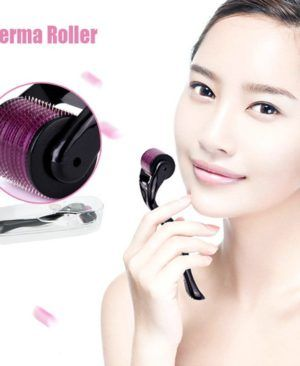 DRS Dermaroller for Skin Care Derma Roller system For Whole Body & Hairs. Derma Roller System is a scientific and all-inclusive device with multiple sizes and exchangeable heads with different needle count and sizes to use on face, neck, eyes and body. It works by prickling the skin and tricking it to renew skin cells by repairing itself which results in new collagen production. It is known to help with acne scars, spot marks, scar removal, stretch marks, cellulite, wrinkles, and hair loss…